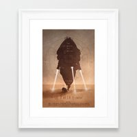 fifth element Framed Art Prints featuring The Fifth Element No.1 by Digital Theory