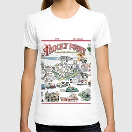 Rocky Point Amusement Park, Warwick, Rhode Island History Art T-shirt