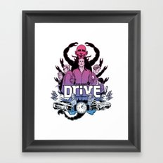 Drive front cover Framed Art Print