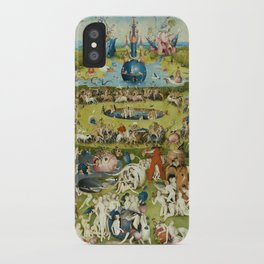 Hieronymus Bosch The Garden Of Earthly Delights iPhone Case