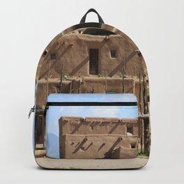 A Taos Pueblo Building Backpack