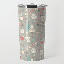 Baby fox pattern 03 Travel Mug