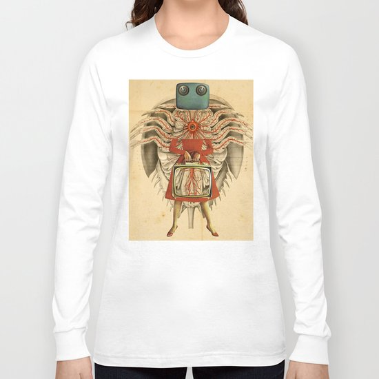 Grilled She Crab Long Sleeve T-shirt