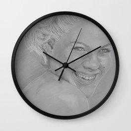 Pink II Wall Clock