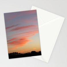 Orange wisp  Stationery Cards