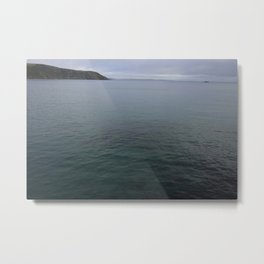Deep Blue Sea at Gorran Haven Metal Print