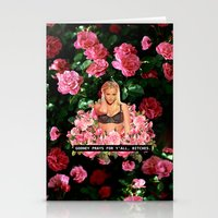 britney Stationery Cards featuring BRITNEY PRAYS. by eriicms