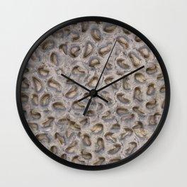 Texture composition No. II Wall Clock
