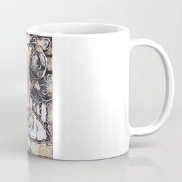 Sketchy Multicolor Swirls Coffee Mug