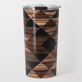 Urban Tribal Pattern No.11 - Aztec - Wood Travel Mug