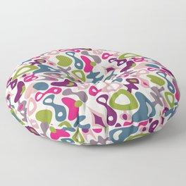 Playful retro Floor Pillow