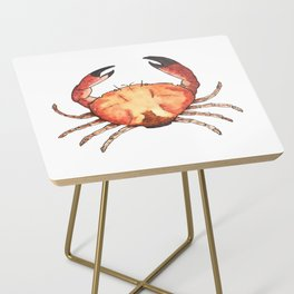 Crab: Fish of Portugal Side Table