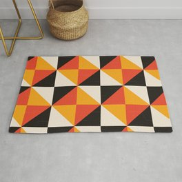 Isometric Squares Rug