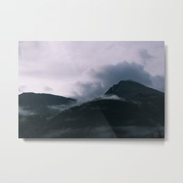 Cloud Collision - Silverton CO Metal Print