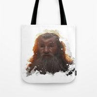 gandalf Tote Bags featuring Gandalf by Ryky