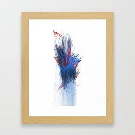 Unwelcome Gaze – Facebook 1 Framed Art Print