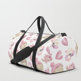 bears, hearts and flowers Duffle Bag