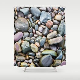 Pebbles -2- Isle of Skye Shower Curtain