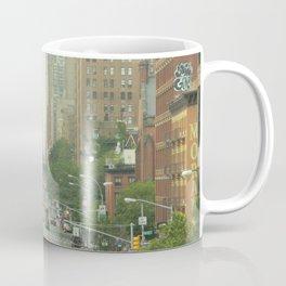 New York City - Down The Avenue Coffee Mug