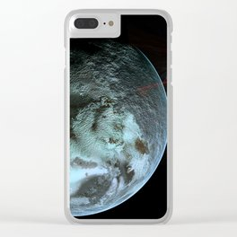 Attacked by Noise Clear iPhone Case
