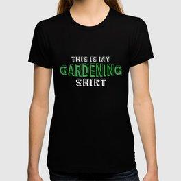 This Is My Gardening Shirt, Garden Gift, Plant Lover T-shirt