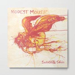 Modest Mouse - Satellite Skin Metal Print