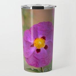 Lynda Anne Art Flower Travel Mug