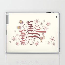 I Smell Snow Laptop & iPad Skin