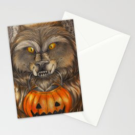 Knock Knock! Trick or Treat! Stationery Cards