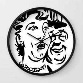 Face A Surprise Wall Clock