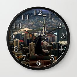 Seattle Space Needle Wall Clock
