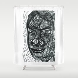 alike in many undiscernible ways but not... Shower Curtain