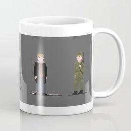 Pixel art of Matt Damon Coffee Mug
