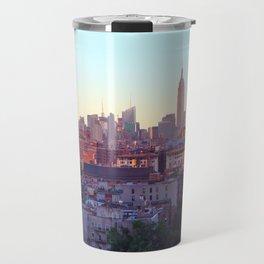 Empire State Building and the New York Skyline Travel Mug