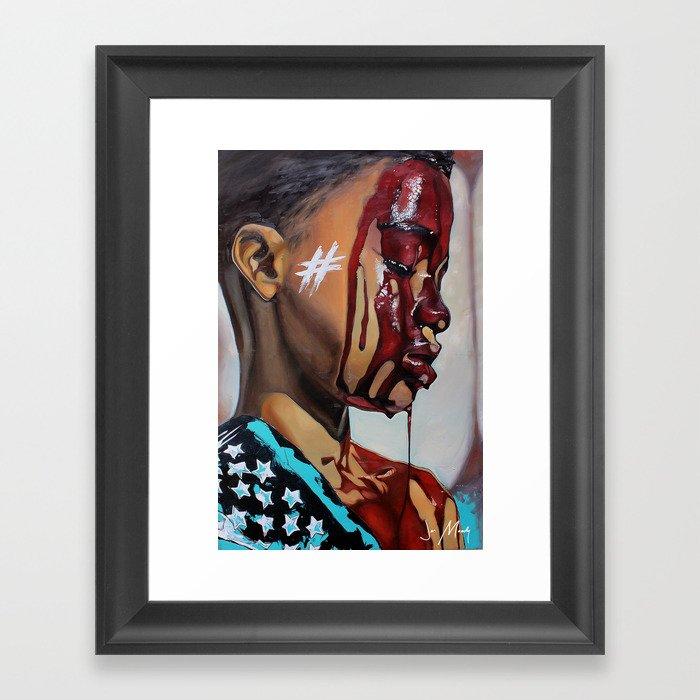 2018 Framed Art Print