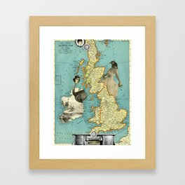 Bird Women of the British Isles Framed Art Print