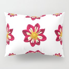 Dahlia Pinwheels Pillow Sham