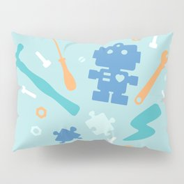 Young Pastel Engineer Pillow Sham