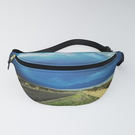 Desert Storm in Death Valley Fanny Pack
