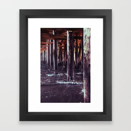 The Pier Framed Art Print