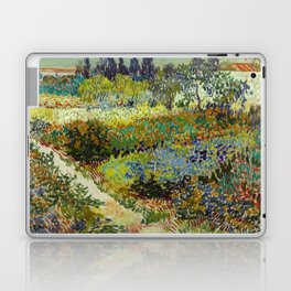Vincent Van Gogh - Garden at Arles Laptop & iPad Skin