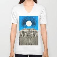 mythology V-neck T-shirts featuring Mythology by 松本 ナオヤ [Naoya Matsumoto]
