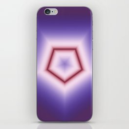 Fractal Poly in DPA 01 iPhone Skin