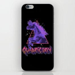 Quadricorn iPhone Skin