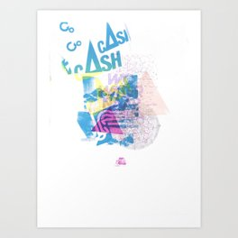 Cash Silk 001 Art Print