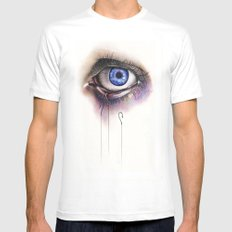 You Caught My Eye Mens Fitted Tee White MEDIUM