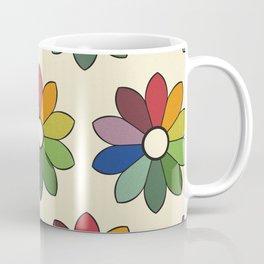 Flower pattern based on James Ward's Chromatic Circle Coffee Mug