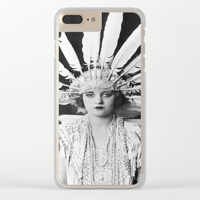 Indienne Clear iPhone Case