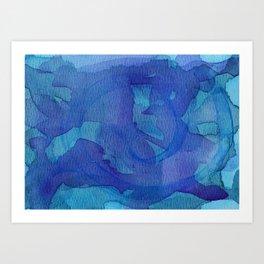 Abstract No. 143 Art Print