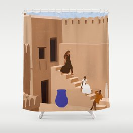 Great Escapes Shower Curtain